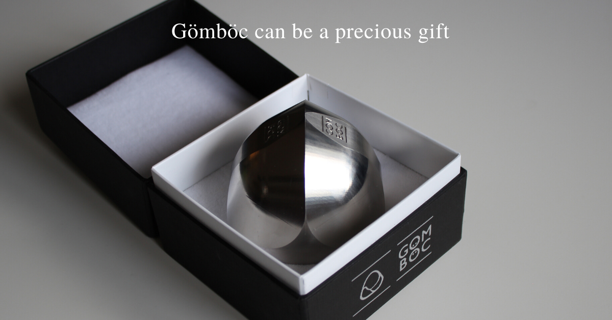 Steel Gömböc in gift box