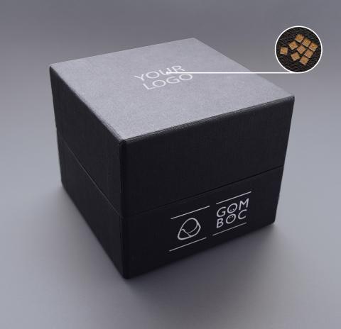Gomboc Gift Box Engraved Logo Closed